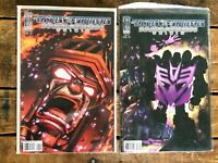 Transformers Megatron Origin #3-4 **TWO ISSUE LOT** (IDW 2007) Cover B for Both