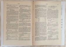 ENCICLOPEDIA DELLE ARTI SAPONE SAPONI SOAP RICETTE RECIPES 1890 CIRCA