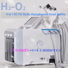 Newest 2018 H2 O2 Small Bubbles Aqua Peel Beauty Equipment for Skin Peeling