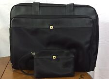 WENGER SWISS GEAR The Rhea Black Laptop Shoulder Bag Briefcase with small bag