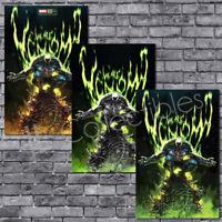 🔥 Venom #30 KAEL NGU Trade + B/W + Green Virgin Variant Set of 3 NM Pre-Order!