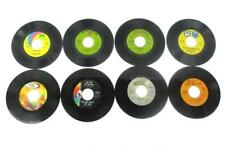 Lot Of Eight 45 RPM Records By 70's Artists Dionne Warwick Carly Simon