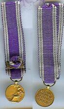 Médaille en réduction - Médaille d'honneur services bénévoles officier