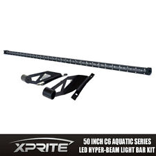 "Xprite 50"" CREE Single Row led Light Bar C6 with Mounting Brackets Toyota Tundra"