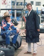 RICHARD PETTY+KYLE PETTY HAND SIGNED 8x10 COLOR PHOTO+COA       SIGNED BY BOTH