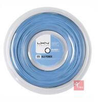 Luxilon Big Banger Alu Power 125 Tennis String 220m Reel - Ice Blue
