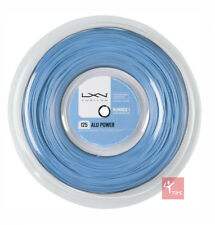 Luxilon BIG BANGER ALU potenza 125 Tennis Stringa 220m Reel-Ice Blue