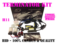 NEW H11 CANBUS FOG LIGHT TERMINATOR HID XENON KIT 35W 6000K NO ERRORS