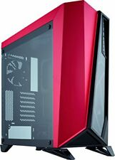 Corsair Cc-9011120-ww Carbide Glass Mid-tower ATX Gaming Case - Black/red |