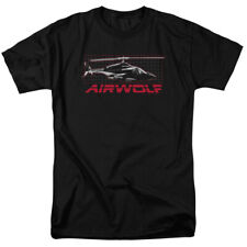 Airwolf Helicopter Grid T-Shirt