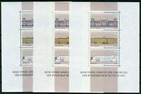 3 x Bund Block Nr. 20 sauber postfrisch BRD 1287 - 1289 Block aus 1986 MNH