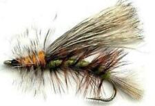 Fly Fishing Flies - Stimulator Olive Dry Fly - One Dozen - 4 Sizes 12,14,16,18