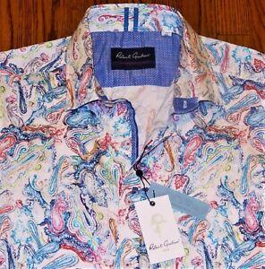 ROBERT GRAHAM MENS ORIGINAL BRAND NEW AUTHENTIC DRESS SHIRT TOP Size XL, NWT