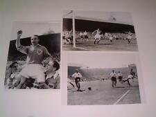 Blackpool FC 1953 FA Cup Final Stanley Matthews and goals set of 3 photos