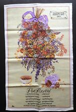 Greetings From Hervey Bay Queensland Souvenir Tea Towel Linen Pot Pourri