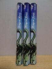 Dragons Blood Incense  3 Packs x 20 Sticks Kamini Hex  Free Post AU