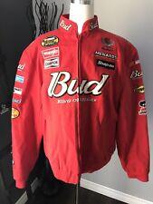 NASCAR Dale Earnhardt Jr #8 Women's Bud Cotton Twill Jacket Chase Authentic XXL