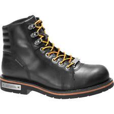 HARLEY-DAVIDSON® CRANSTONS WATERPROOF BLACK BOOT D93584 EURO 42 - UK 8