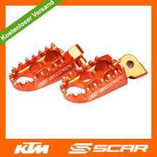 Fußrasten FUSSRASTEN STD KTM SX SXF SX-F EXC EXC-F 50 65 125 150 250 450 ORANGE