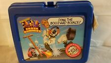 Vintage Crash Dummies Lunch Box With Thermos 1992 Tyco