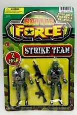 "Toy solider 2 pack strike team battle force 3.5""  ages 4+  New in package"