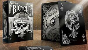 Bicycle Central Royaume (Noir) Poker Cartes de Jeu
