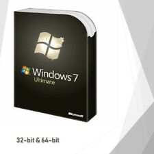 Genuine Microsoft Windows 7 Ultimate 32 64-bit Win License Key Product Code FULL