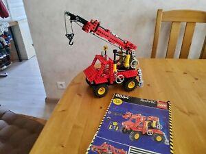 Lego technic 8854 pneu matic avec notice