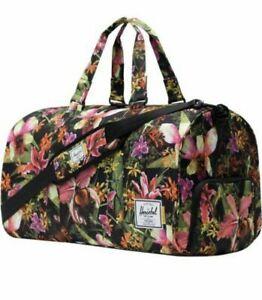 Herschel Supply Co Novel Duffel Bag Jungle Design Hoffman California Fabric $185