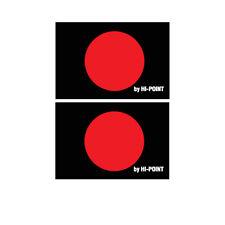 VINTAGE MOTOCROSS Hi POINT red dot tire sticker decal  RM CR KX YZ