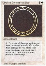 ▼▲▼ Circle Protection Black (Cercle protection noir) REVISED  #9 ENGLISH MTG