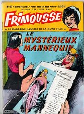 FRIMOUSSE n°67 ~+~ 1961 ED CHATEAUDUN ¤ MES HISTOIRES ILLUSTREES PREFEREES