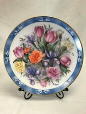 The Flowers of Holland Bouquets of the World Doug Hague Danbury Mint Plate 1990