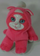 "Vintage ""PET SURPRISE"" Pink Meowing KITTY plush Hasbro 1993"