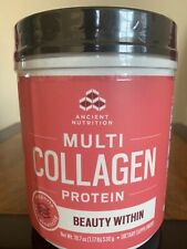 Ancient Nutrition Multi Collagen Protein Beauty Within Refreshing Watermelon