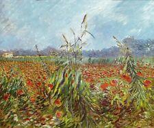 Vincent van Gogh Green Ears of Wheat Poster Print Paper HQ Art Home Decor 20x24