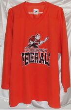 Frederick Federals Maryland Ice Hockey Orange Jersey Mens Size Medium Pear Sox