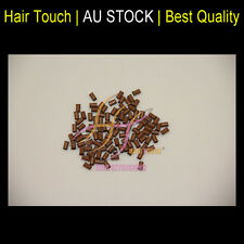 Micro Beads Copper Tube For I Tip Hair Extension MEDIUM BROWN 100ps CODE34*30*60