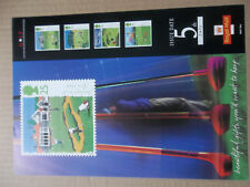 ROYAL MAIL A4 POST OFFICE POSTER 1994 GOLF MUIRFIELD TROON  TURNBERRY COURSES