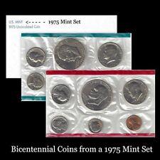 1975 P+D U S Mint Set Eisenhower Kennedy Washington Roosevelt Jefferson Lincoln