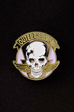 Metal Gear Solid Outer Heaven Logo Metal Pin - Snake Phantom Pain 2 3 4 V