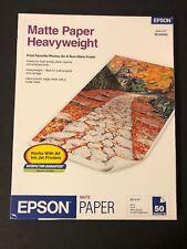 EPSON MATTE HEAVYWEIGHT PAPER