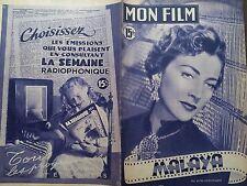 "MON FILM 1950 N 221 "" MALAYA "" avec VALENTINA CORTESE et SPENCER TRACY"