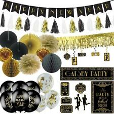 1920s Gatsby New Year Decoration Pack - Banners - Balloons - Poster