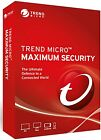 Trend Micro Maximum Security 2021 Antivirus - 5 Device 3 Year