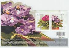 Canada -  Canada - #2376 African Violet Souvenir Sheet (Flowers) -MNH