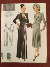 Vogue Vintage Model Sewing Pattern Oop 2354 Sz 8 Misses' Dress New