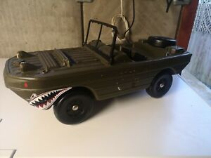 AMPHIBIOUS JEEP, Cherilea, first issue, 1970s, (Action Man, Palitoy)