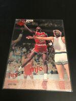 1998 UPPER DECK MJX 1ST QUARTER MICHAEL JORDAN #23 CHICAGO BULLS RARE INSERT #50