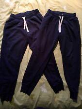 H&m - HENNES 2 X Paire De Bleu Pantalons De Jogging (euro 158)